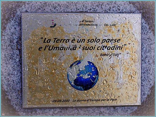 La Terre est un seul Pays