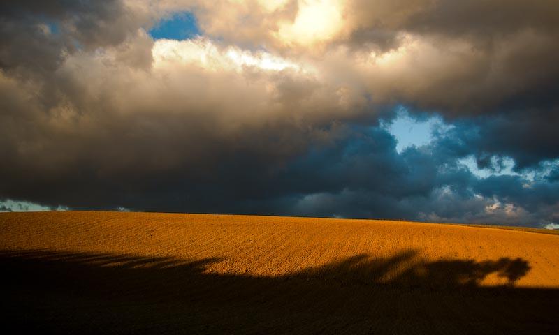 La terre et le ciel