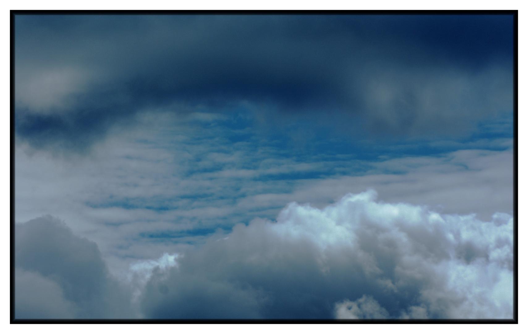 la tete dans les nuages.