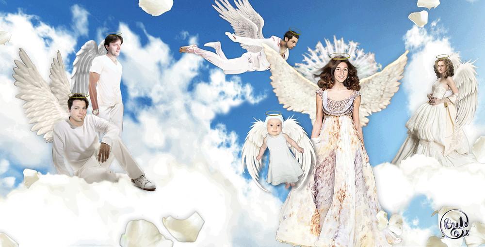 la tite famille chez les anges^^
