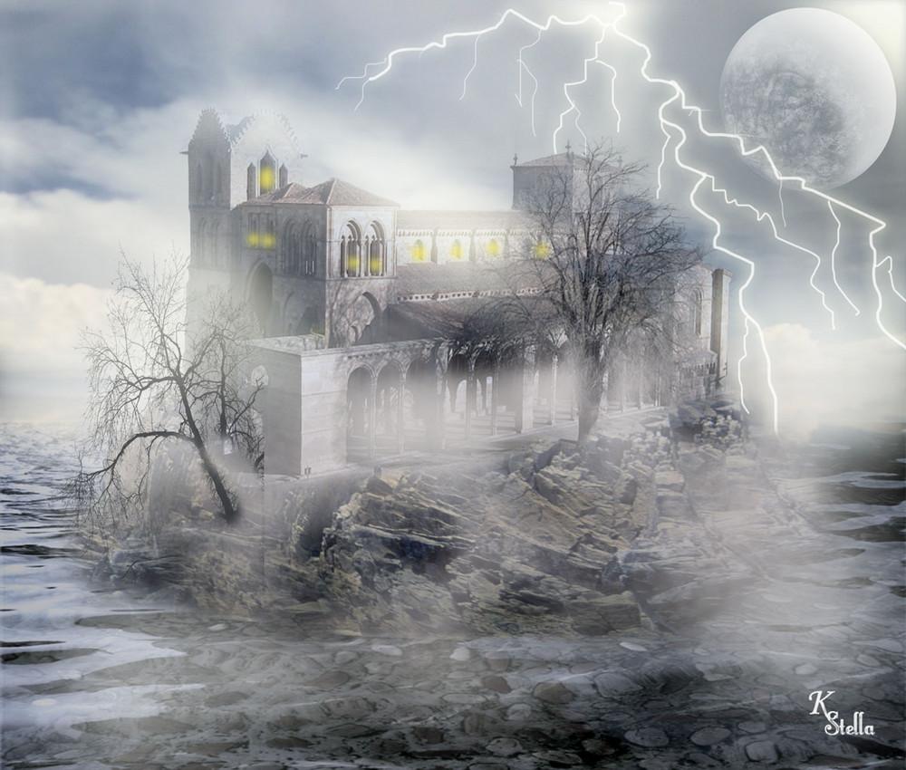 La tormenta en San Vicente (AVILA)