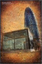 La Torre AGBAR y los cubos de cristal