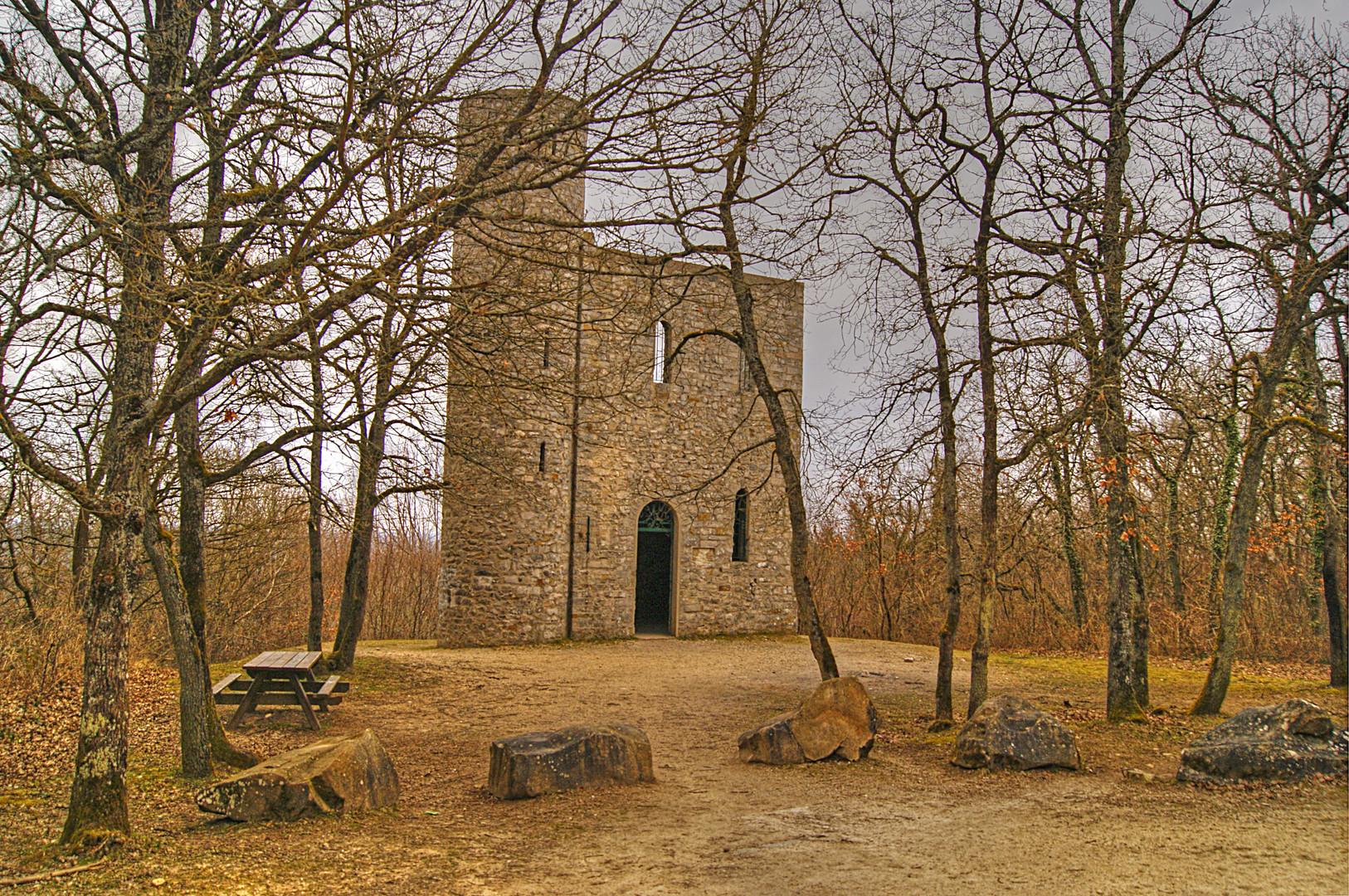 La tour du Buisson, Essonne