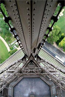 La Tour Eiffel - Abwärts