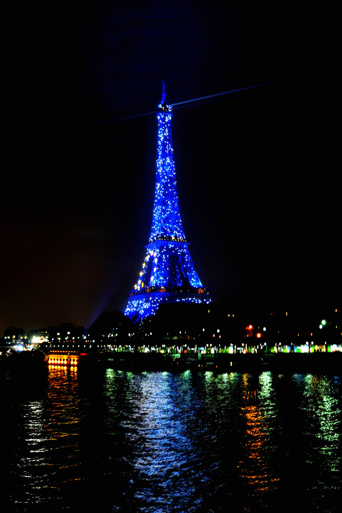 La Tour Eiffel du pont Bir Hakeim