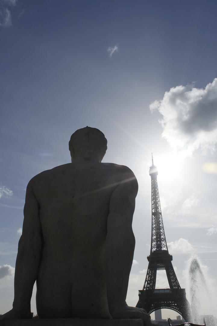 """La Tour Eiffel """"homme"""""""