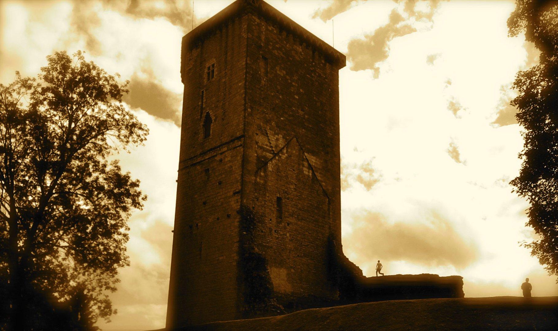 La tour Moncade.