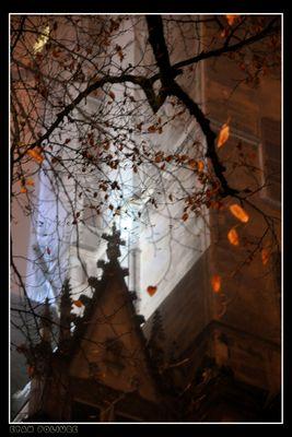 La Tour Philippe Le Bel, Dijon un soir de brune