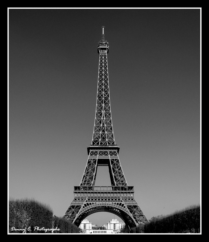 LA TOUR...BLACK AND WHITE