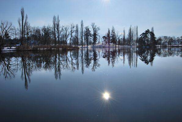 La transparence du lac