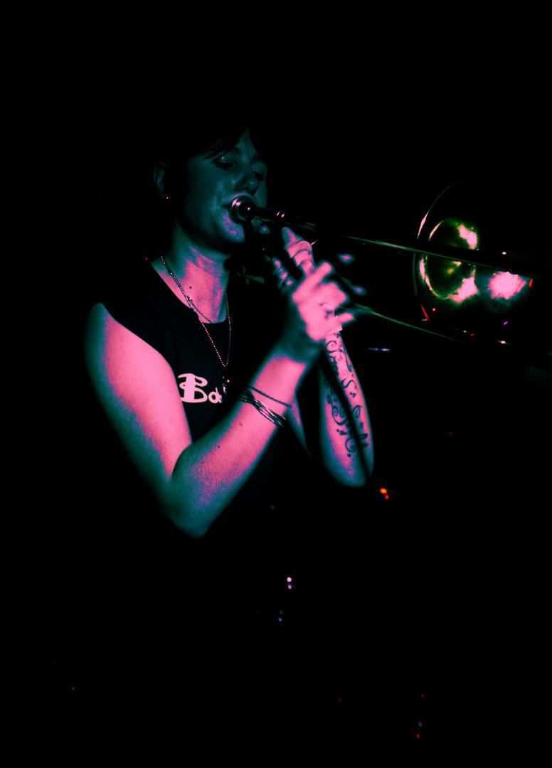 La Trompettiste (portrait en scène)
