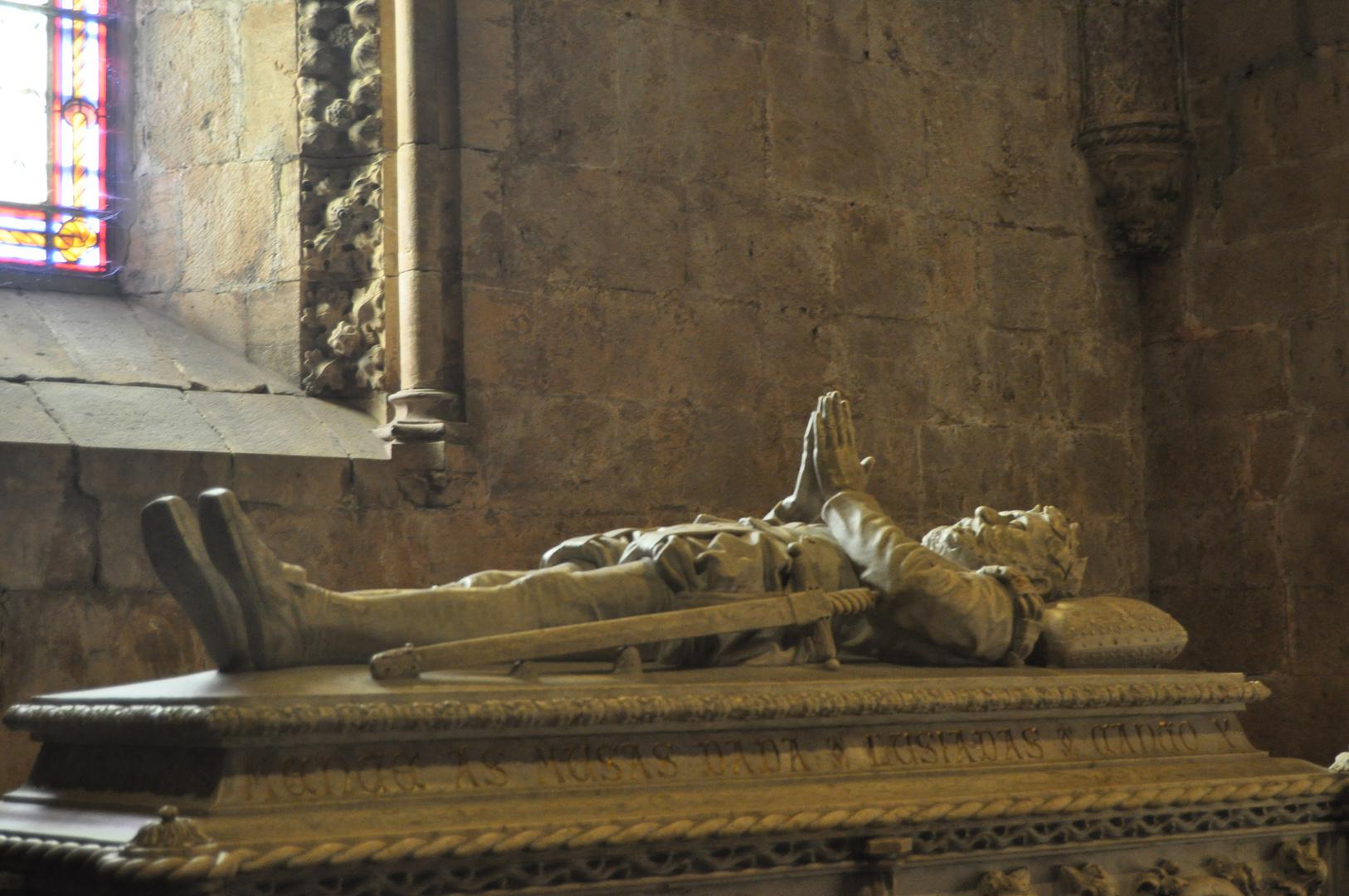 La tumba de Vasco de Gama (Monasterio de Los Jeronimos)