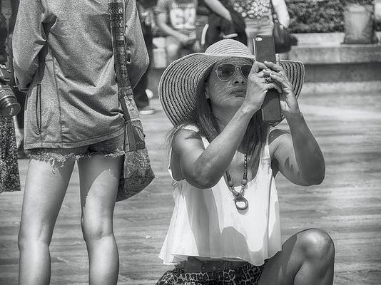 La turista