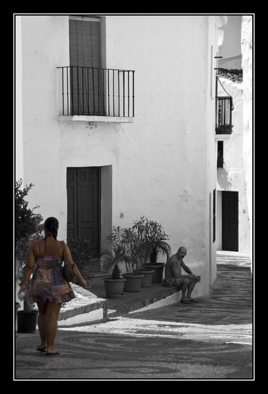 La turista y el nativo