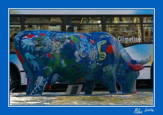 La vache bleue