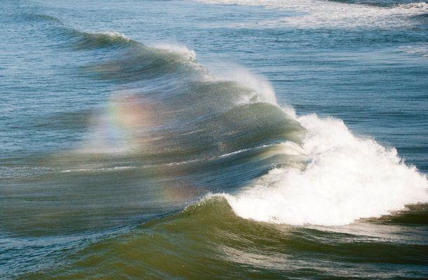 La vague arc en ciel
