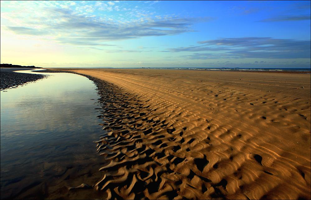 La vague de sable