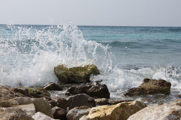la vague en suspension