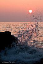 la vague et le soleil!