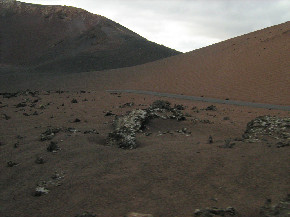 la valle dei vulcani
