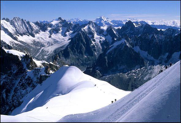 La vallée blanche et le glacier de Talèfre