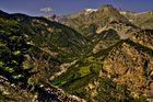 la vallée de la Bléone