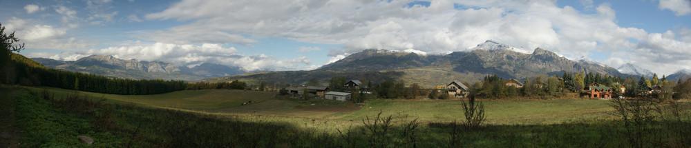 la vallée de St Léger les mélèzes