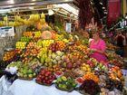 """la vendeuse de fruits """"Barcelone - Marché San Josep"""""""