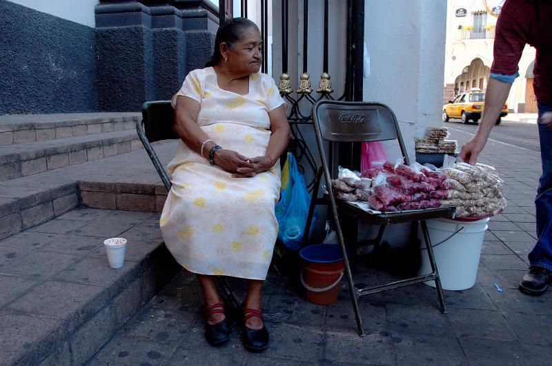 La venditrice di noccioline