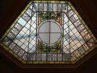 la vetrata centrale delle poste di Rovigo - Galileo Chini