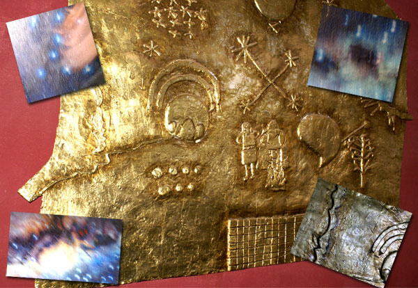 La via lactea en la astronomia Inca en QORIKANCHA-Cusco-Peru