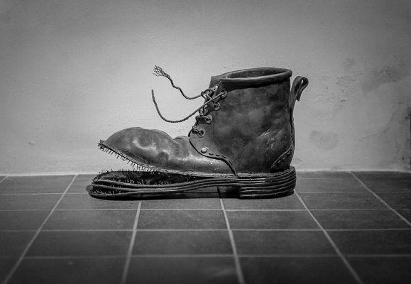 La vieille chaussure