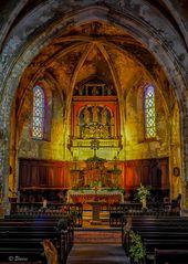 La vieille église de Bonnieux