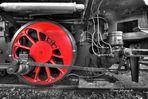 La vieille locomotive à vapeur