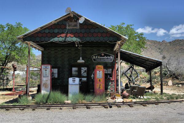 La vieille station service