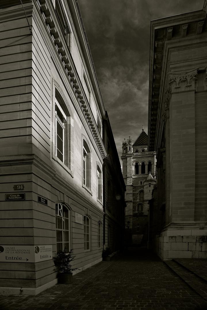 La vieille ville de Genève