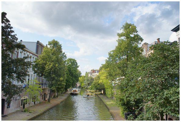 La vieille ville d'Ultrecht