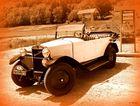 La vieille voiture