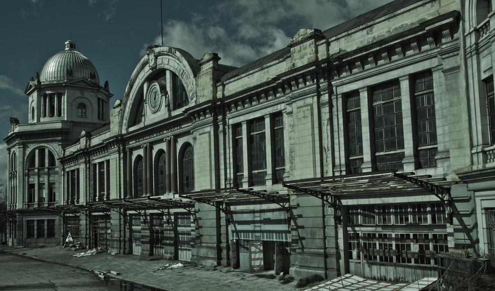 ...la vieja estación del norte...