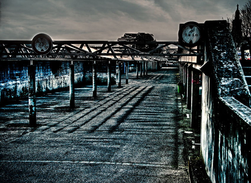 La ville abandonnée