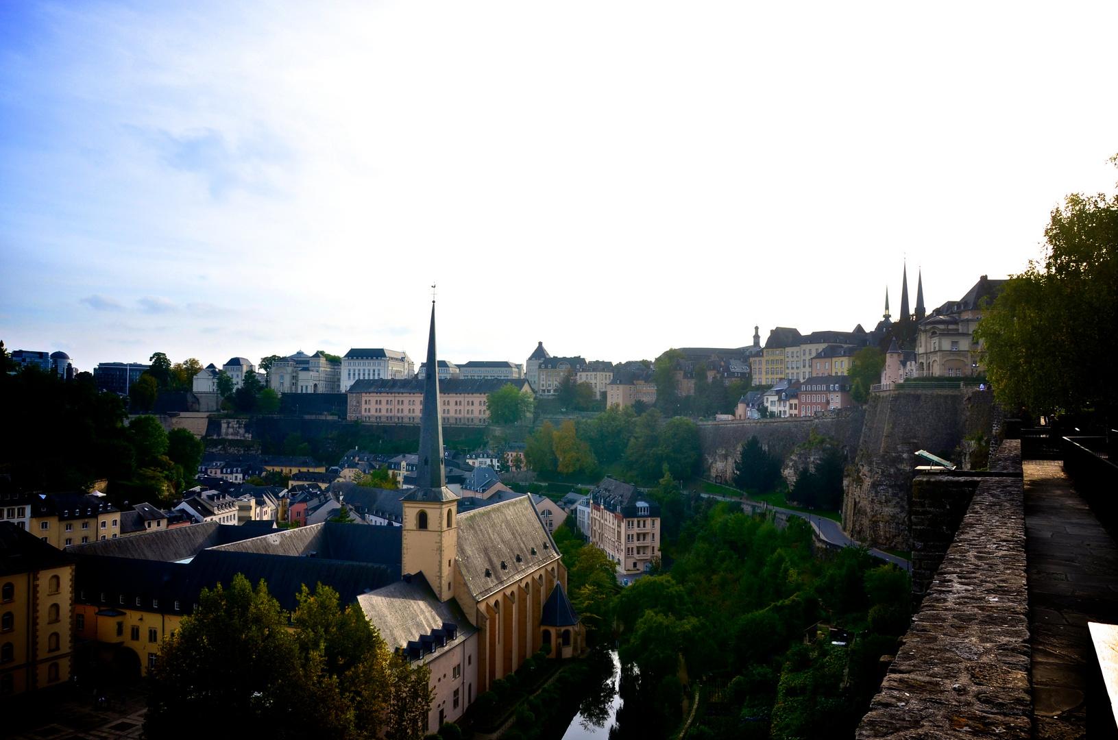 la ville basse de luxembourg