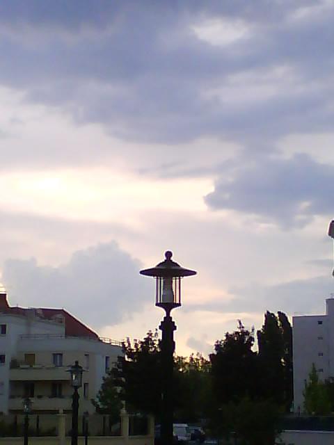 La ville dans un ciel de coton !
