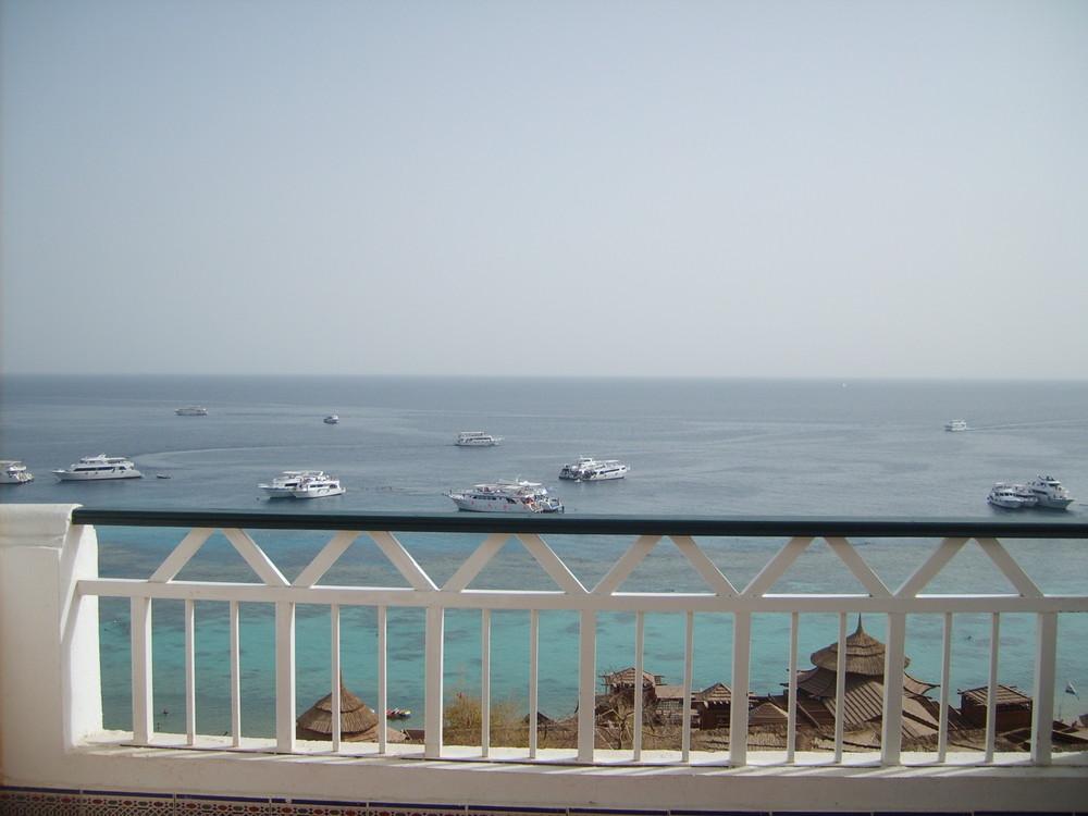 la vista della mia camera a Sharm el Sheikh