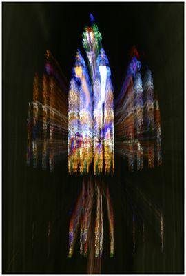 La vitesse de la lumière sacrée