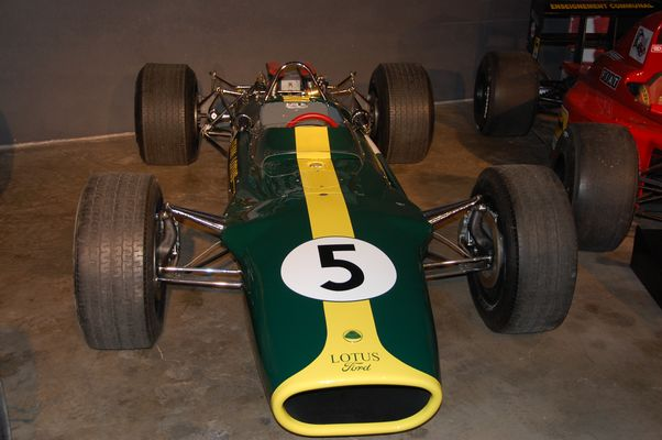 La voiture du Grand Jim Clark