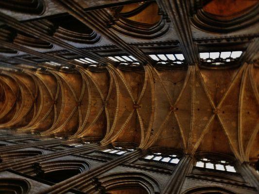 La voûte de la cathédrale Notre Dame