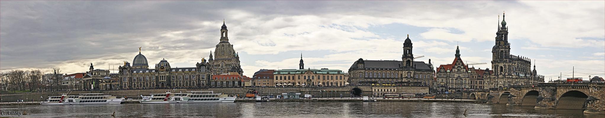 Laaaaanges Dresden Panorama