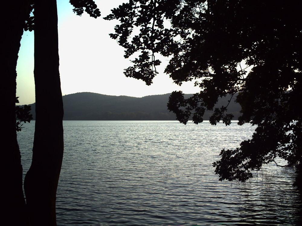 Laacher See am Abend