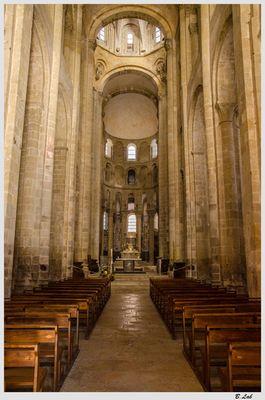 L'abbatiale Sainte-Foy de Conques.