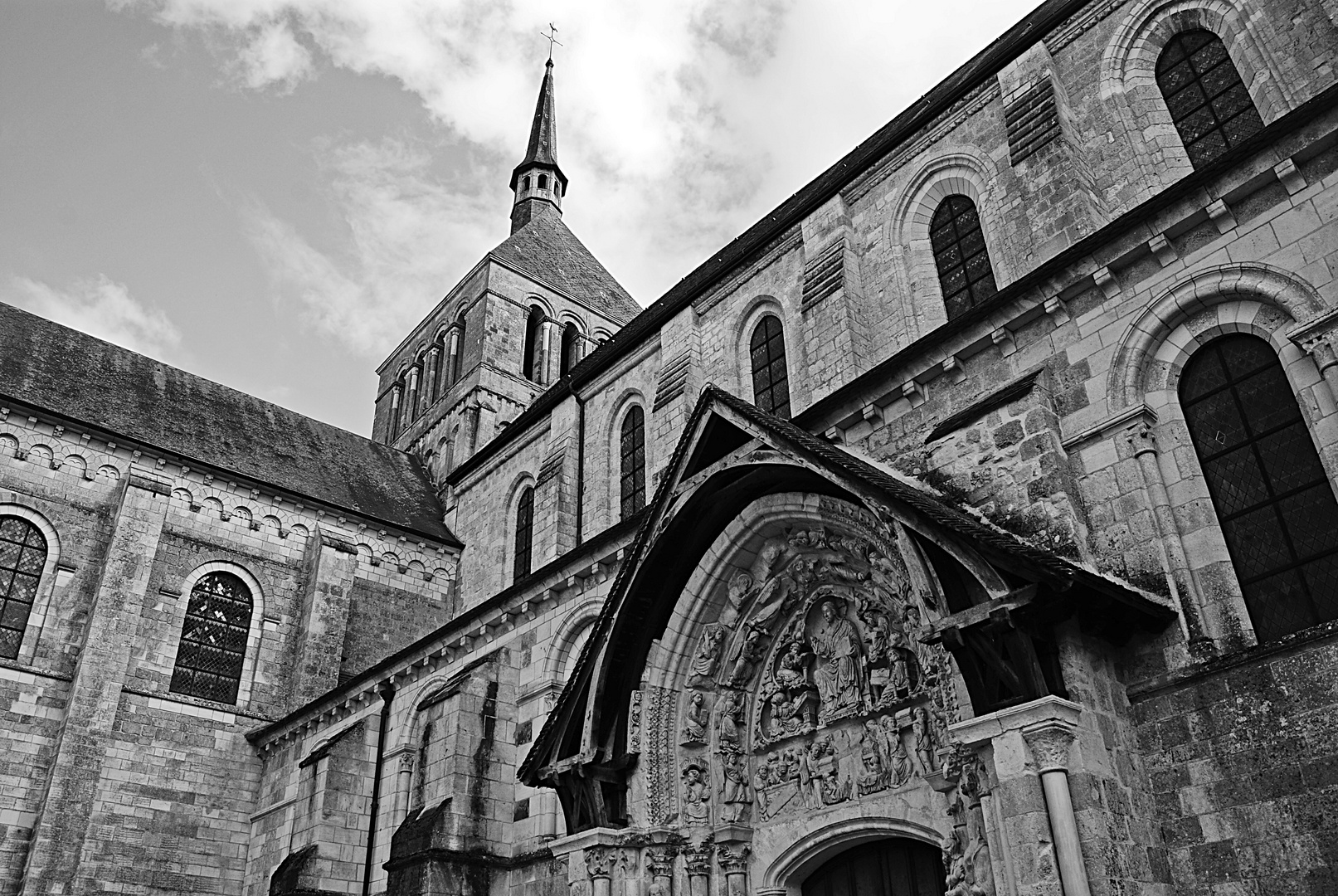 l'abbaye de Saint Benoit, Val de Loire
